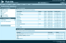Admin screenshots